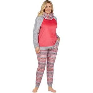 🆕️ NWT Cuddl Duds Plus Size Pajama Top Sz XXL